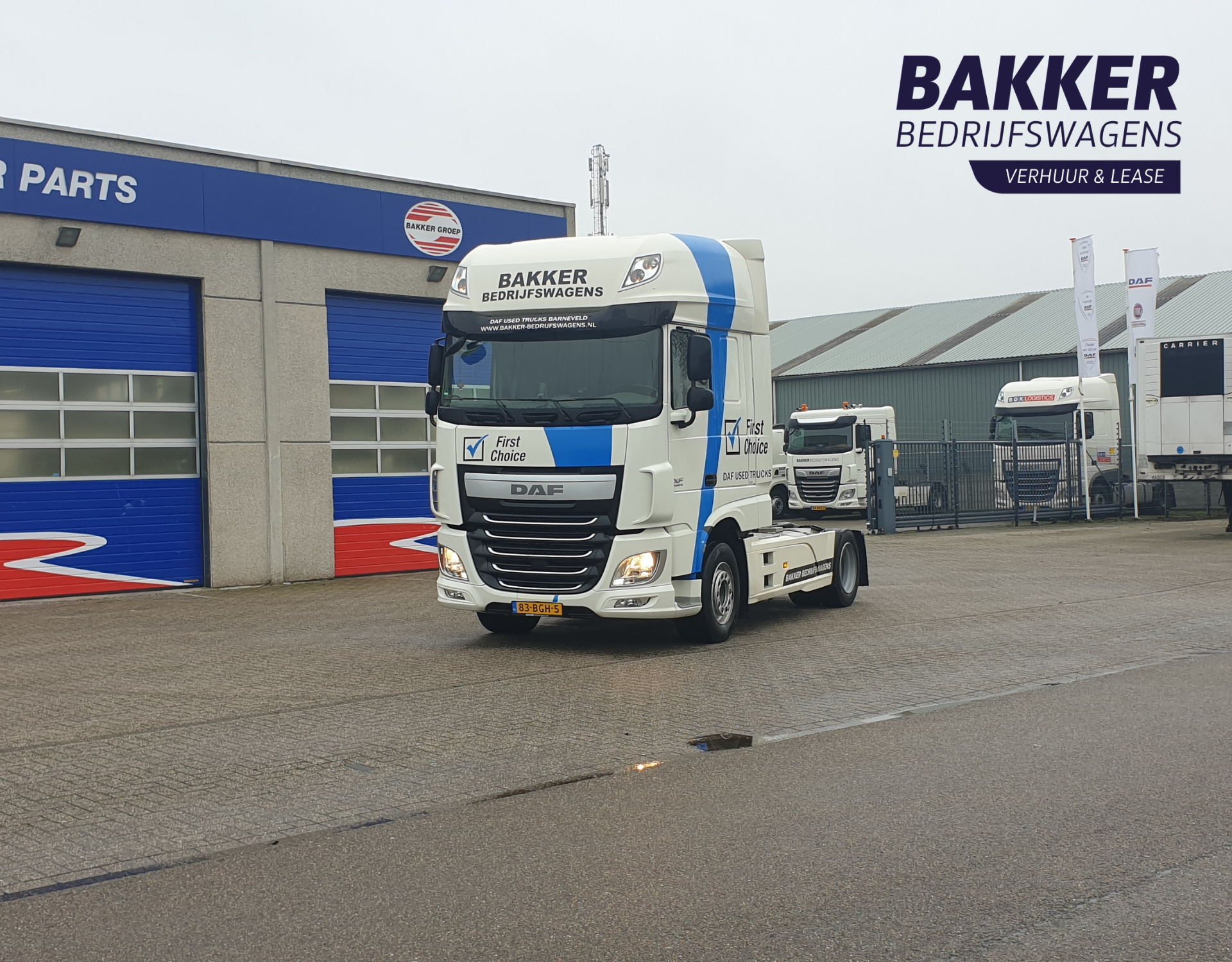 DAF XF FT SSC 460 incl. Rema/Clang aansluiting