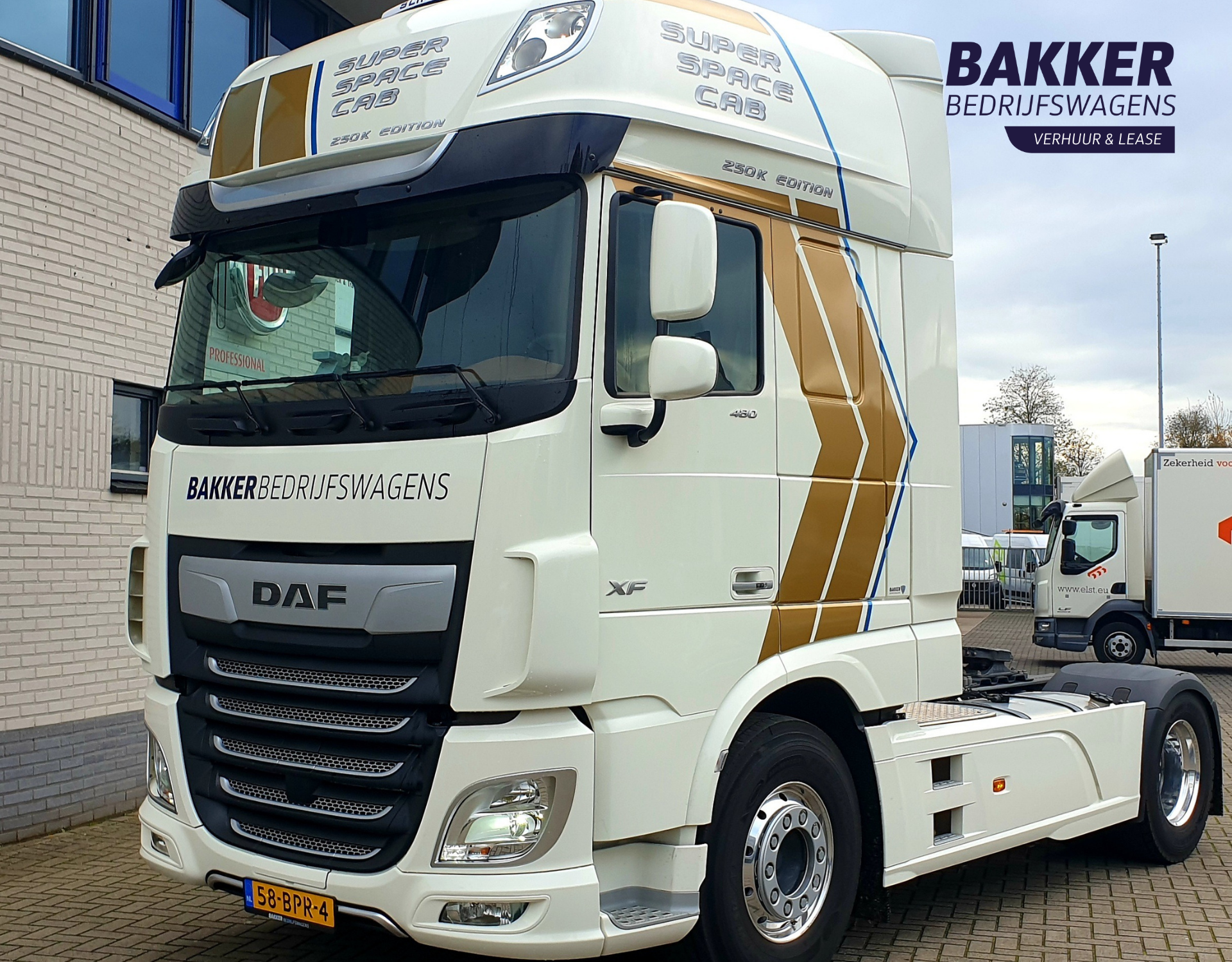 DAF XF SSC 480 250k special edition
